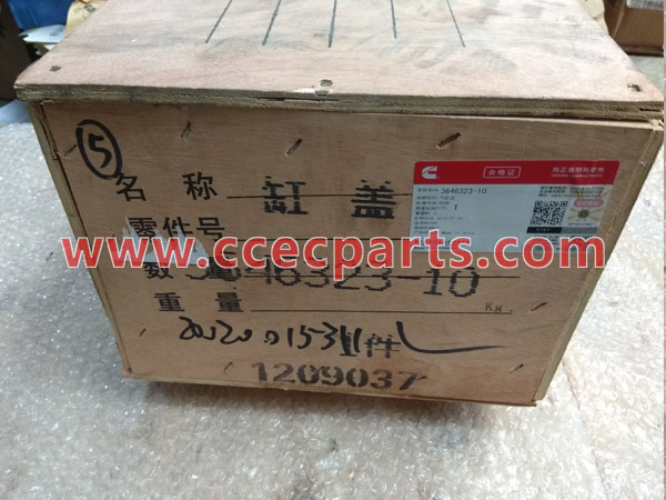 cceco 3646323 K Cylinder Head