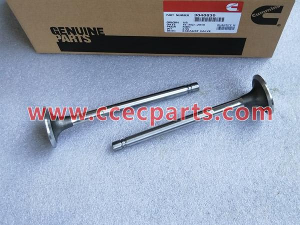CCEC 3040830 La válvula de escape NTA855