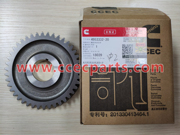 CCEC 4953332 K38 K50 Fuel Pump Drive Gear