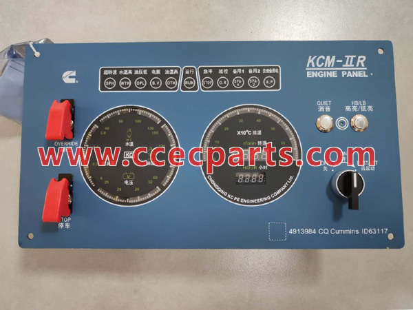 cceco 4913984 NTA855 Engine Instrument Panel